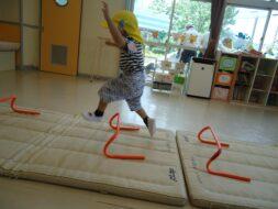 幼少組(かもめ組)初めての体育指導